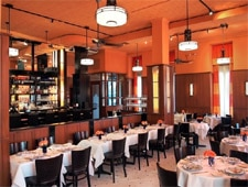 Dining room at Paola's Restaurant, New York, NY