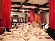 Dining room at At Vermilion, New York, NY