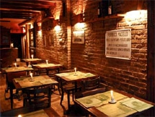 Dining room at THIS RESTAURANT HAS CHANGED NAMES Quinto Quarto, New York, NY