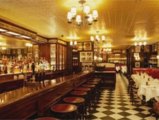 Dining room at Minetta Tavern, New York, NY