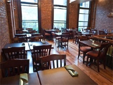 Dining room at Piquant, Brooklyn, NY