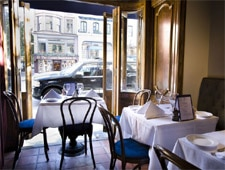 Dining room at Le Paris Bistrot, New York, NY