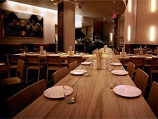 Dining room at Ma Peche, New York, NY