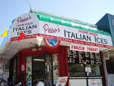 Dining room at Pesso's Italian Ices, Bayside, NY