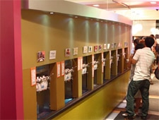 Dining room at 16 Handles, New York, NY