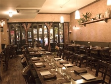 Dining Room at Eolo, New York, NY