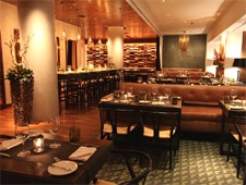 Dining room at PRINT. Restaurant, New York, NY