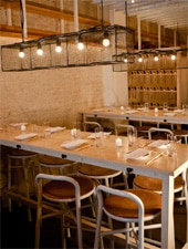 Dining room at Danji, New York, NY