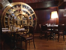Dining room at Trinity Place Bar & Restaurant, New York, NY
