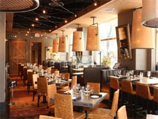 Dining room at Del Frisco's Grille, New York, NY