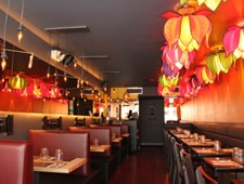 Dining room at Singapura, New York, NY