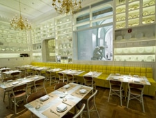 Dining room at Caffe Storico, New York, NY