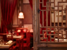 Dining room at Rouge et Blanc, New York, NY