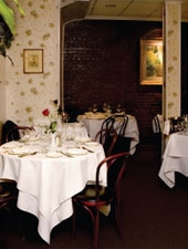 Dining room at Il Mulino, New York, NY