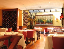 Dining room at Felidia Ristorante, New York, NY