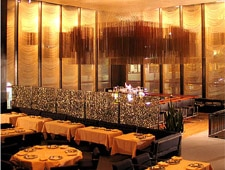 Dining room at The Four Seasons Restaurant, New York, NY