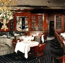 Dining room at Bull & Bear Steakhouse, New York, NY