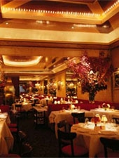 Dining room at La Grenouille, New York, NY