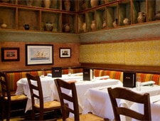 Dining room at Molyvos, New York, NY