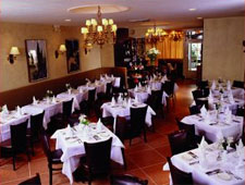 Dining room at Patsy's Italian Restaurant, New York, NY