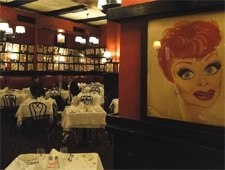 Dining room at Sardi's, New York, NY
