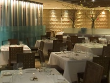 Dining room at The Sea Grill, New York, NY