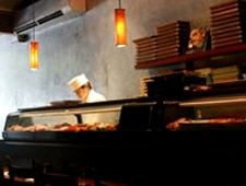 Dining room at Blue Ribbon Sushi, New York, NY