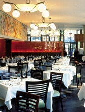 Dining room at Bryant Park Grill, New York, NY