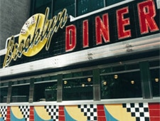 Dining Room at Brooklyn Diner, New York, NY