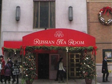 Dining room at Russian Tea Room, New York, NY