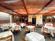 Dining room at i Trulli, New York, NY