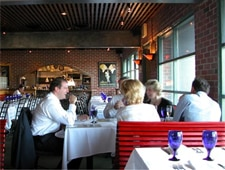Dining room at Ocean Boulevard Bistro & Martini Bar, Kitty Hawk, NC