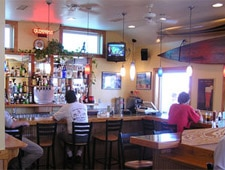 Dining room at Rundown Cafe & Tsunami Bar, Kitty Hawk, NC