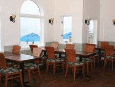 Dining room at Aqua Restaurant, Duck, NC