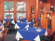 Dining room at The Lifesaving Station Restaurant, Duck, NC