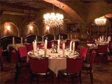 Dining Room at The Cellar, Fullerton, CA