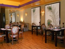 Dining room at Mayur Cuisine of India, Corona Del Mar, CA