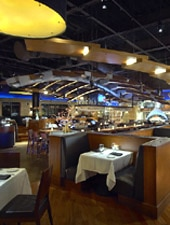 Dining room at Wildfish Seafood Grille, Newport Beach, CA