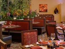 Dining Room at bambu, Newport Beach, CA