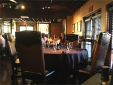 Dining room at Mozambique Steakhouse, Laguna Beach, CA