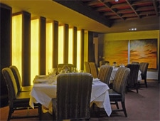 Dining Room at Mastro's Steakhouse, Costa Mesa, CA