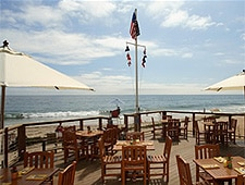 Dining room at The Beachcomber at Crystal Cove, Newport Coast, CA