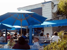 Dining room at Wind & Sea Restaurant, Dana Point, CA