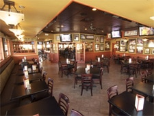 Dining room at Clancy's American Grill, Anaheim, CA