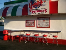 Dining Room at Joe's Italian Ice, Garden Grove, CA