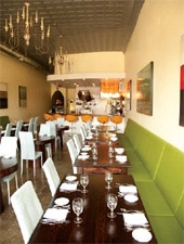 Dining room at Ludivine, Oklahoma City, OK