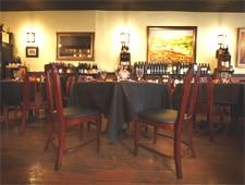 Dining room at Funky Monkey Wine Company, Orlando, FL