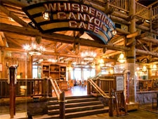 Dining Room at Whispering Canyon Cafe, Lake Buena Vista, FL