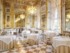 Dining room at THIS RESTAURANT IS TEMPORARILY CLOSED Les Ambassadeurs, Paris, france