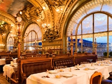 Dining Room at Le Train Bleu, Paris,